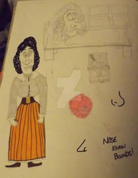 Edwardian school mistress