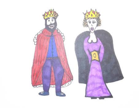 Royalty, Ferdinand and Isabella.
