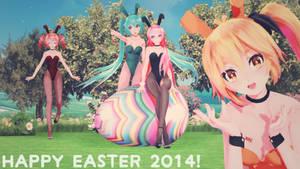 [MMD] Happy Easter 2014!