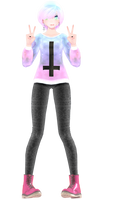 [MMD] Pastel Goth - FINISHED (opinions needed)