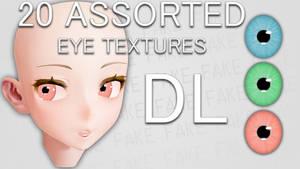 [MMD] FAKE Eye Textures + DL