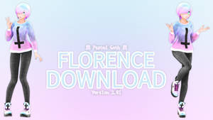 [Pastel Goth] Florence Ver_2.01 + DL by IchiLewis