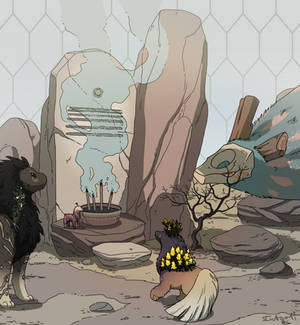 Biome Shrine - Mini prompt
