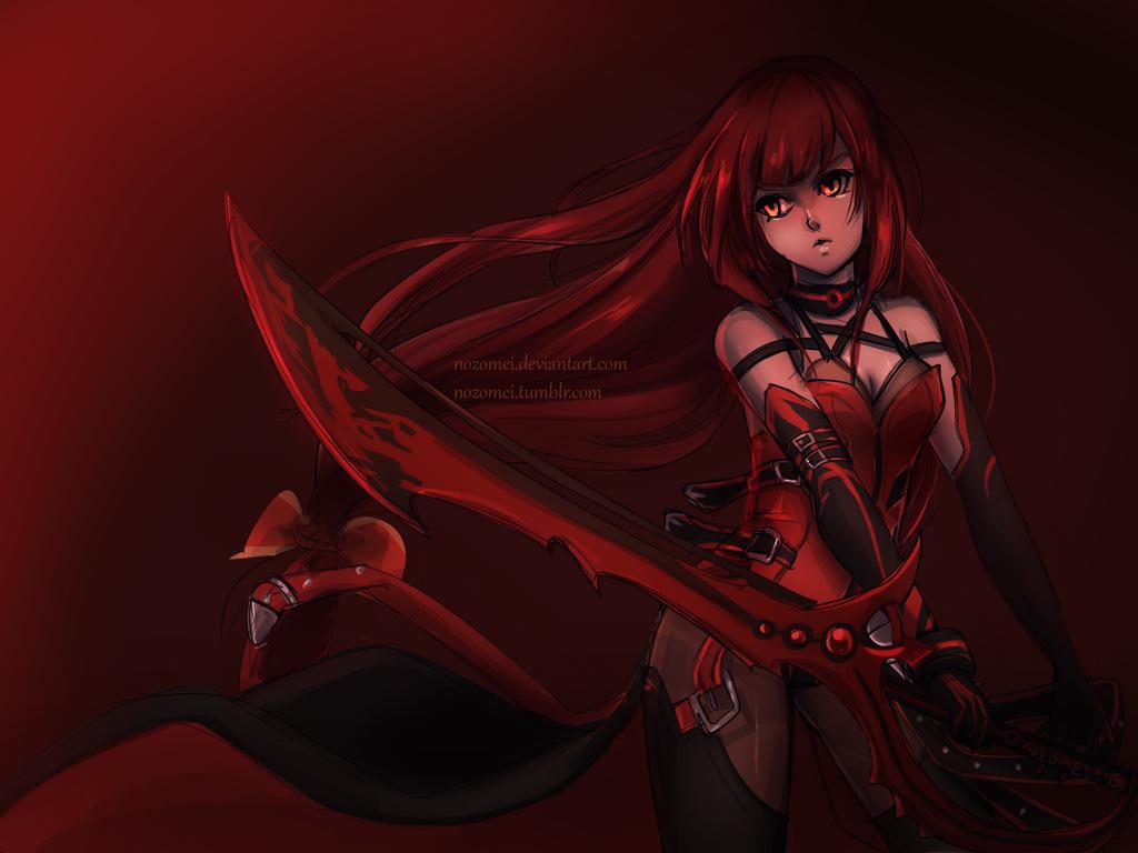 Elsword: Crimson Avenger by nozomei
