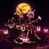 Scourge Sisters by SuperflatPsychosis