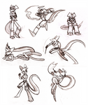 Commission: Dueling Dreamkeepers