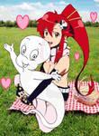 Yoko Litner x Casper's kewt picnic date!