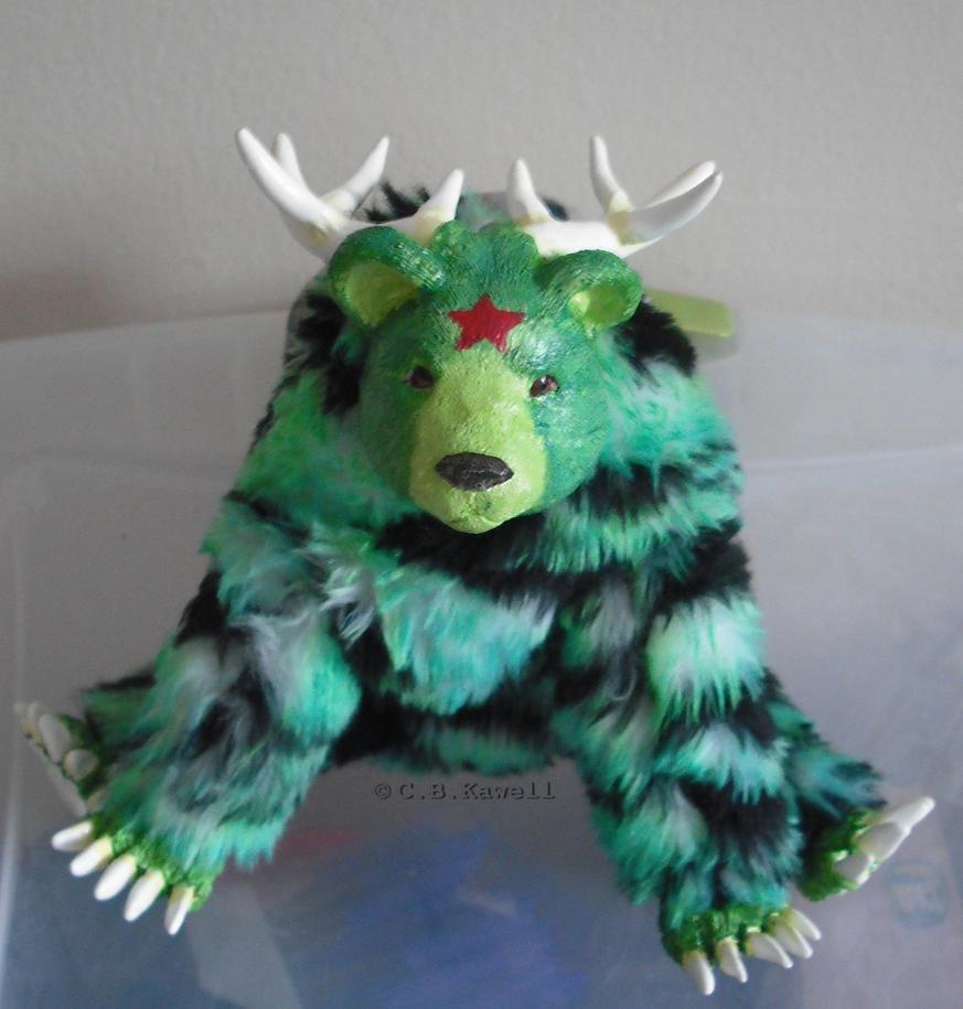 Hein the Bear Deer by DearAngelTori