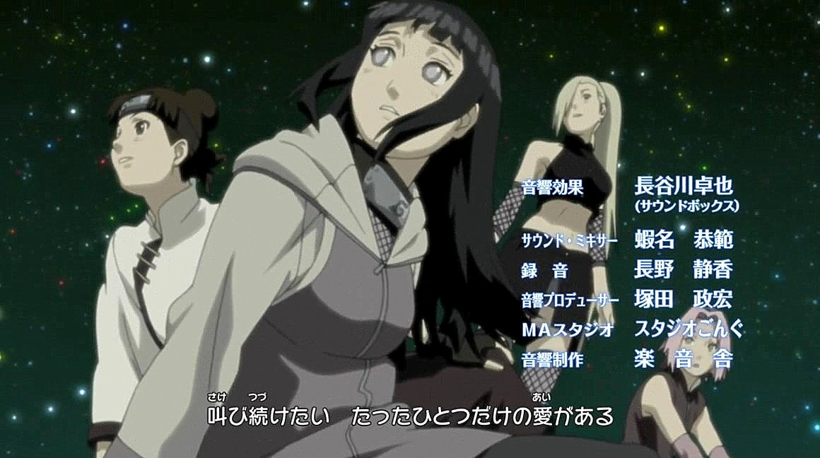 NARUTO Shippuden Ending 22 -- Konoha Girls! by TheUZUMAKIchan