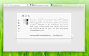 Browser Concept 1 by Rock0