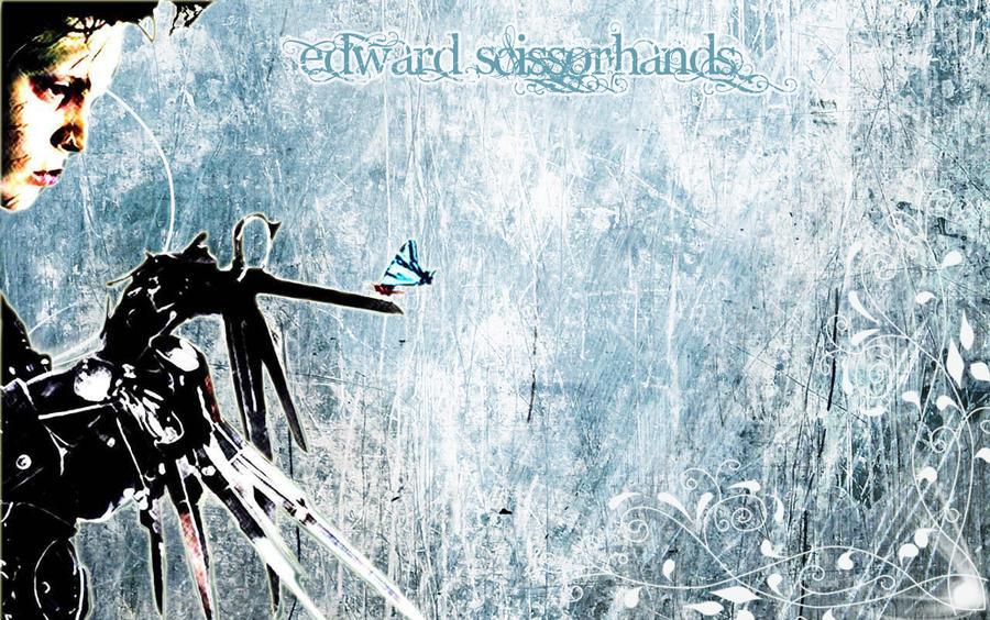 edward scissorhands wallpaper hd