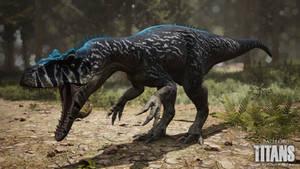 'Rohsal Player' Allosaurus