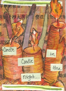Candles -- Lucky Charm ATC 1 by Casssita