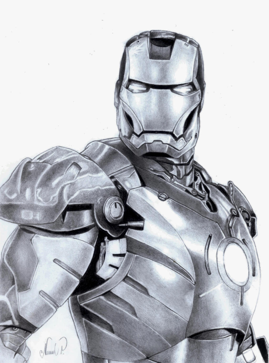 Ironman Logo Drawings Iron Man Drawings in
