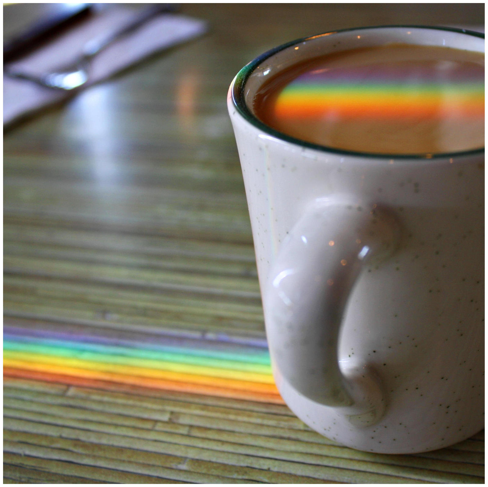 Rainbow Coffee by Juliabohemian