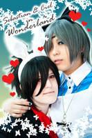 Ciel in Wonderland by kaworu0926