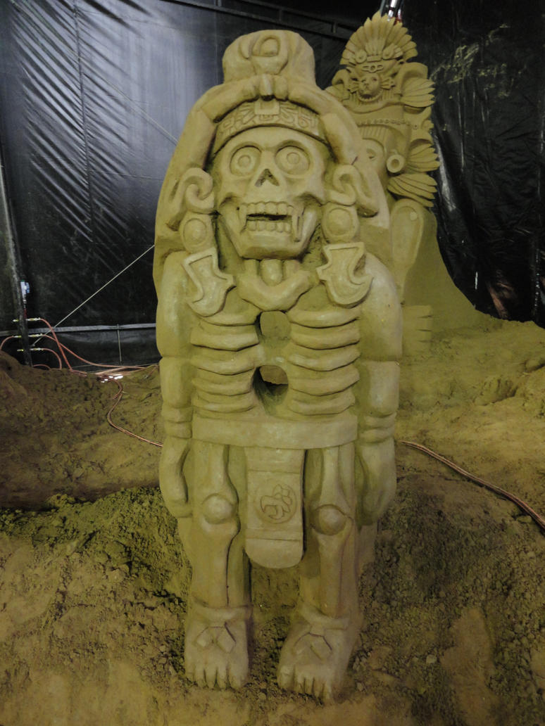 Aztec god Xolotl by Iscariath on DeviantArt