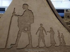 Gandhi's walk