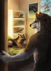 Werewolf Tale II - Rear