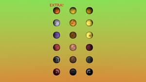 Fnaf 1 Textures + Extra Toy Texture! Free! Blender