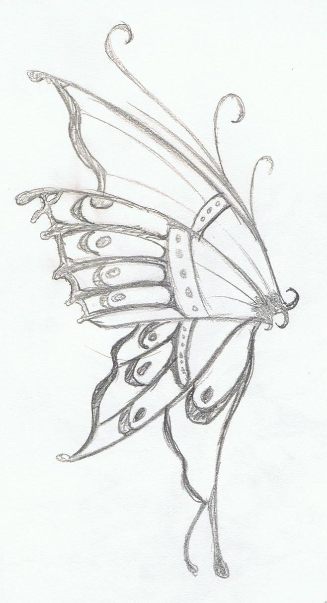 Butterflys Wing By Erisia On DeviantArt