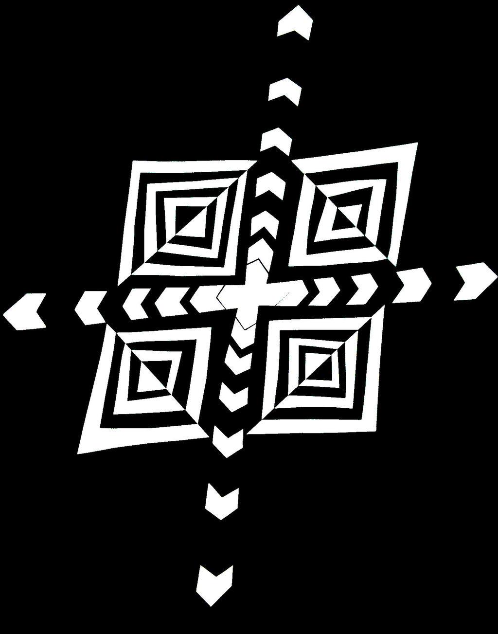 Negative positive cross by Tenshi-no-Koneko