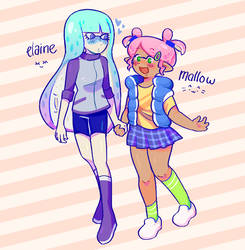 elaine and mallow