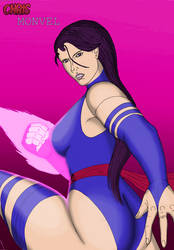 Psylocke (X-Men) by ChrisMonvel