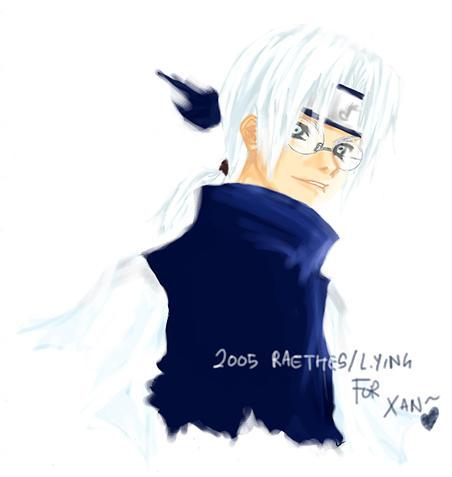 Naruto :: Kabuto giftie by emorae