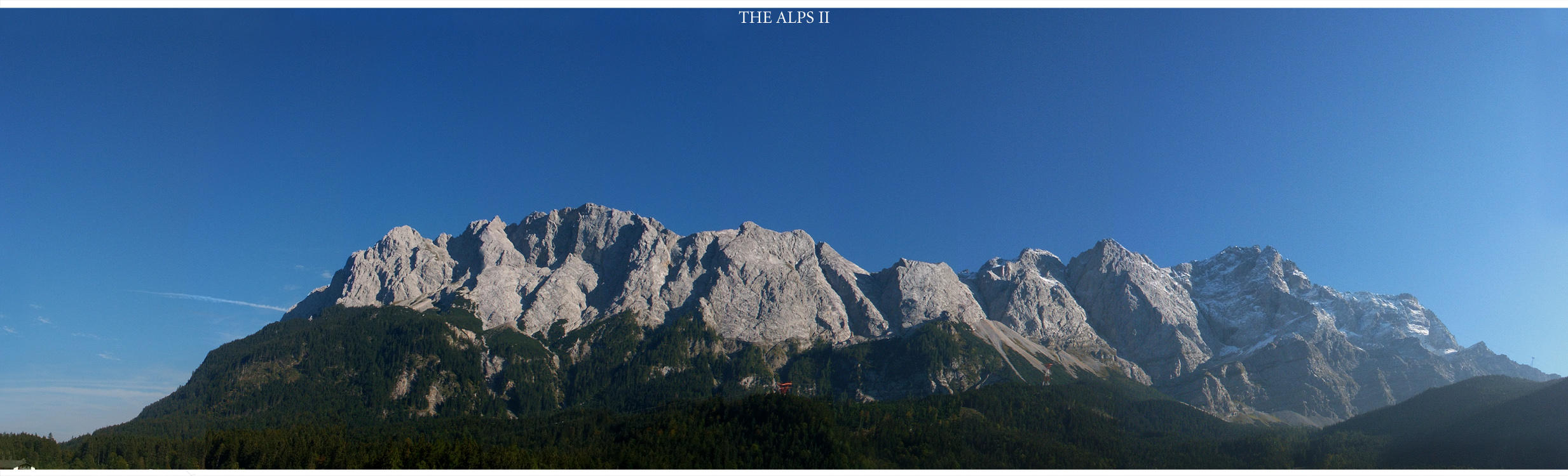 Photo - Panorama - The Alps II by tigaer