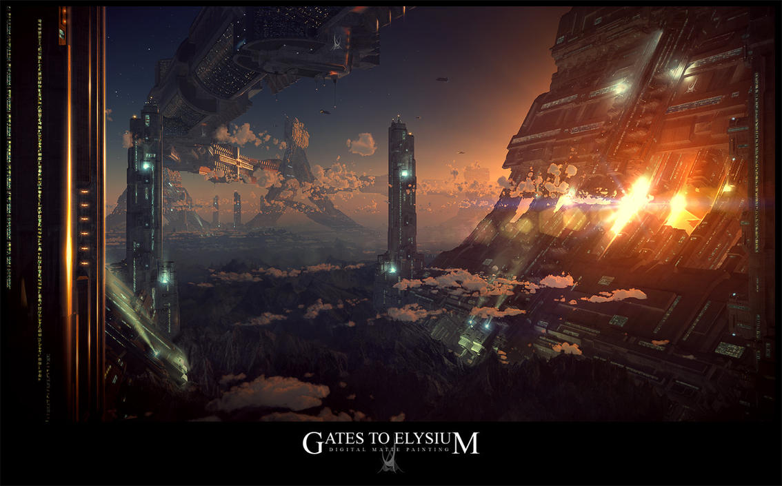 GATES TO ELYSIUM by tigaer