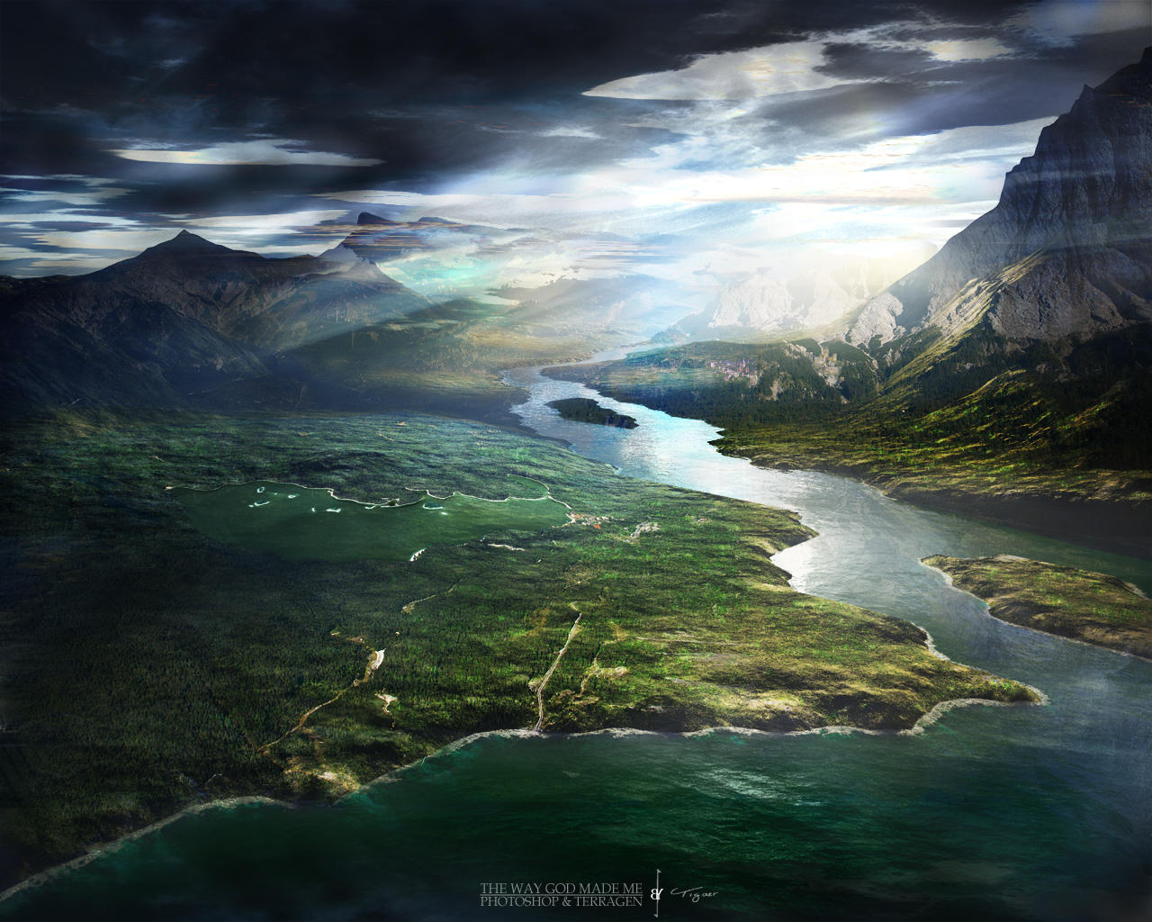 Terragen - The Way God Made Me by tigaer