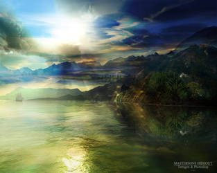 Terragen - Mastersons Hideout by tigaer