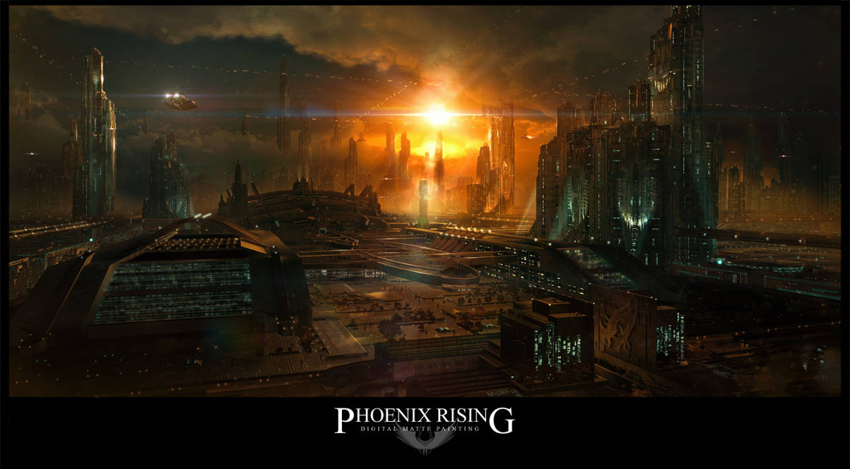 Phoenix Rising by tigaer