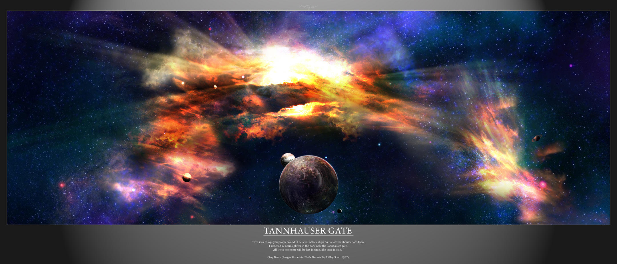 SD - Tannhauser Gate by tigaer