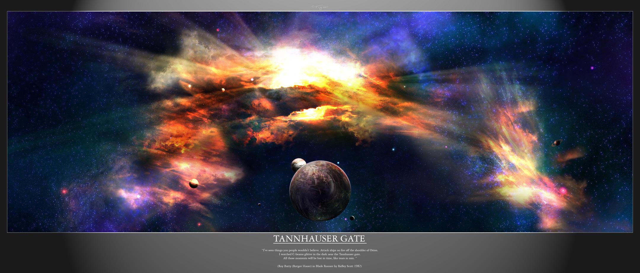 SD - Tannhauser Gate by tigaer