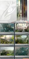 SciFi Calendar 2012 by tigaer
