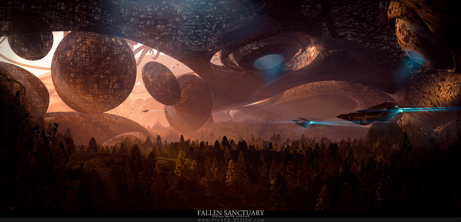 Fallen Sanctuary by tigaer
