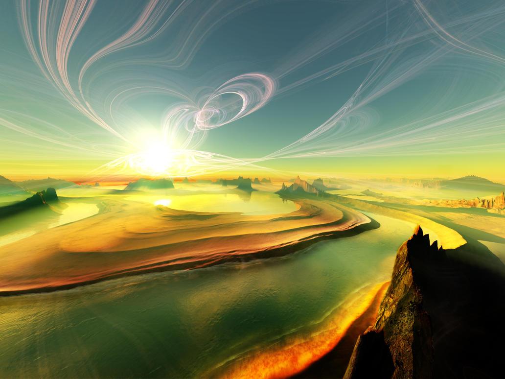 Terragen - Astounding by tigaer