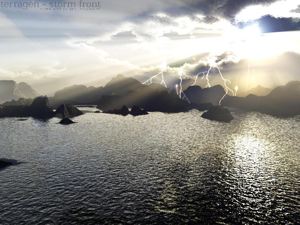 terragen - storm front by tigaer