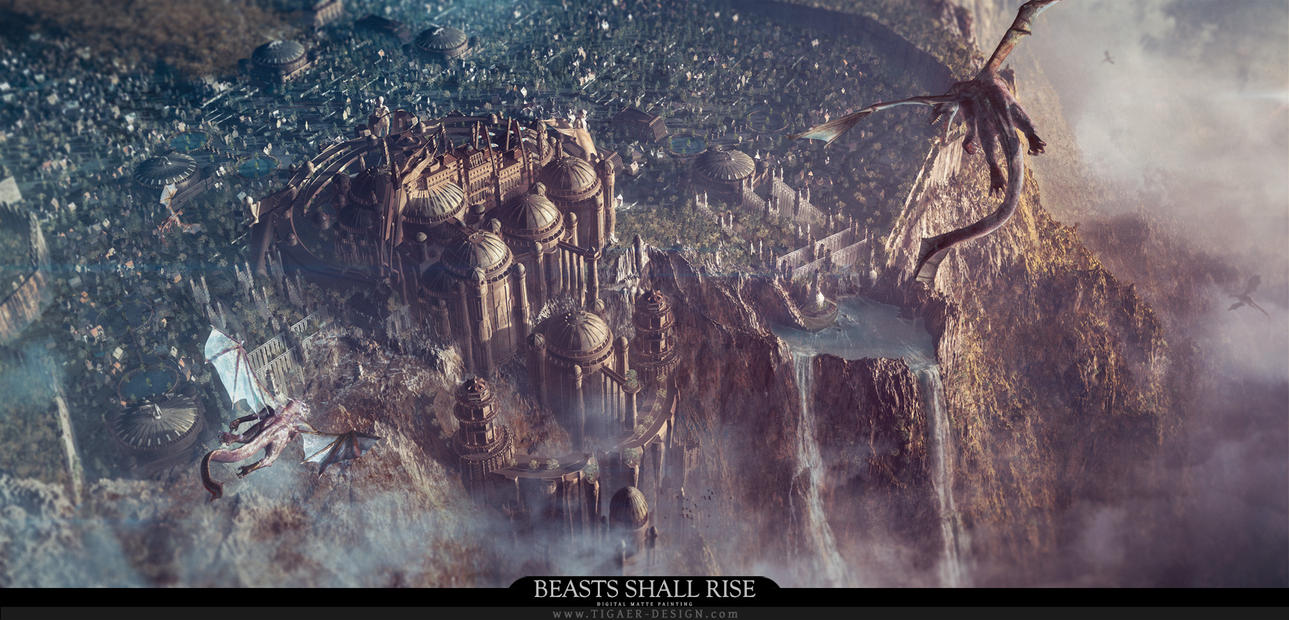 Beasts Shall Rise by tigaer