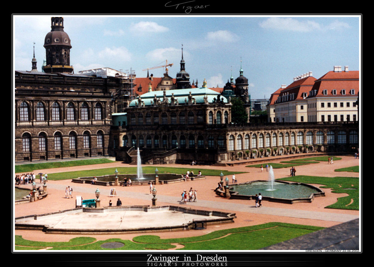 Photo - Dresden Zwinger by tigaer