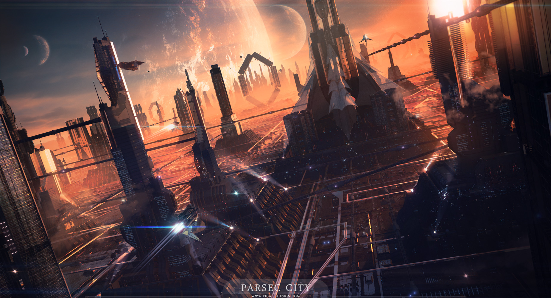 Parsec City by tigaer