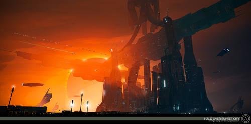 com-cept 32 - Halo Over Sunset City