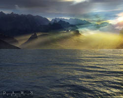 Terragen - My Dawn by tigaer