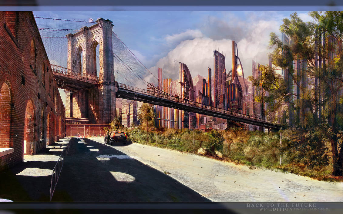 BACK TO THE FUTURE by tigaer