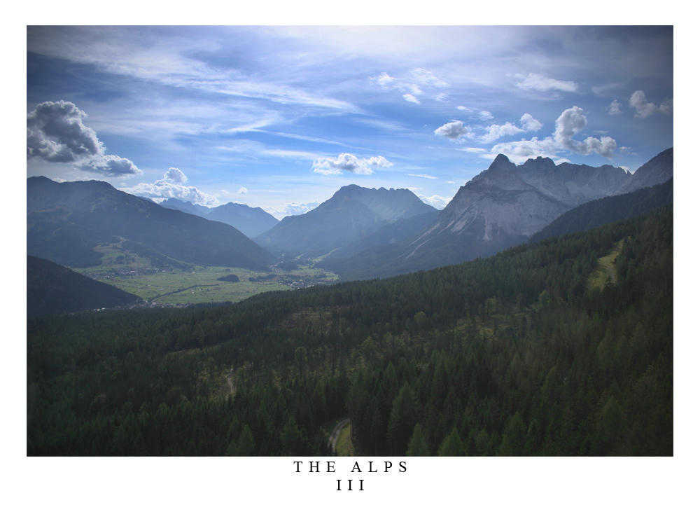 Photo - The Alps III by tigaer