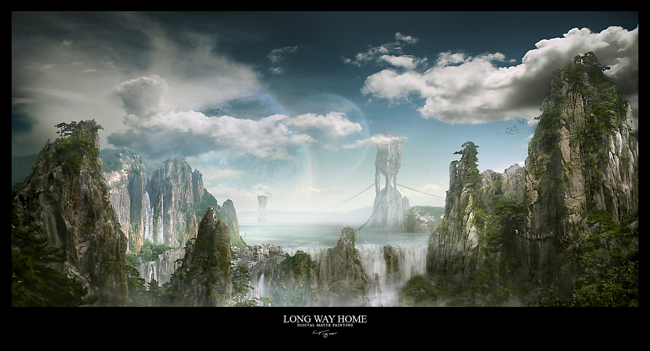 LONG WAY HOME by tigaer