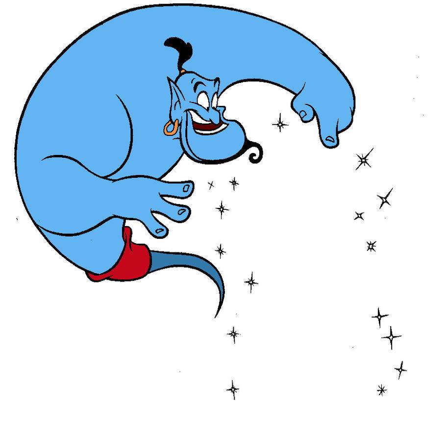 Free Genie (Aladdin) by Wodam on DeviantArt for Aladdin Genie Clipart  117dqh