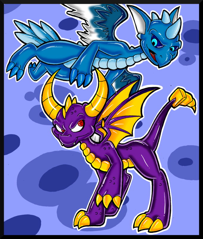 Spyro - Wind and Magic by KaylaTheDragoness